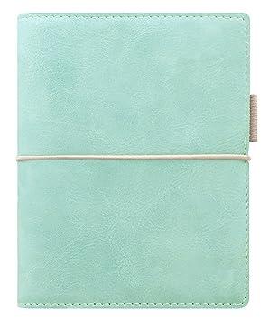 Filofax Domino - Agenda archivador de bolsillo | Azul-Verde ...