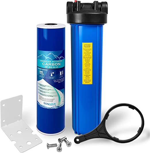 Toda la casa filtro de agua purificador sistema, Big Blue Vivienda ...