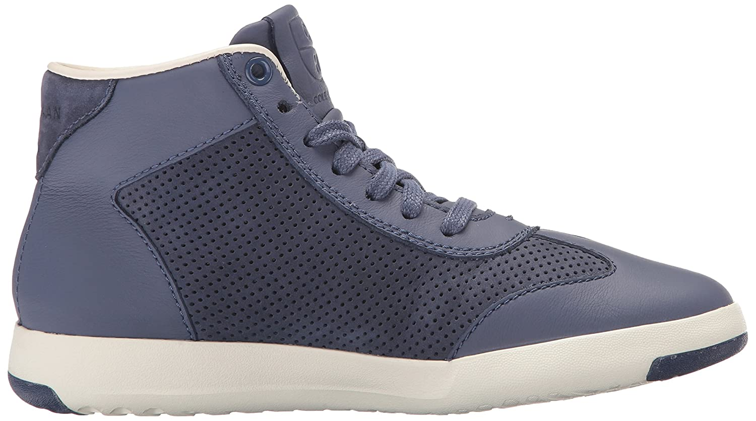 Cole B(M) Haan Women's Grandpro Hi B01NAIKEVH 10.5 B(M) Cole US|Washed Indigo Suede/Optic White 6bb0ea
