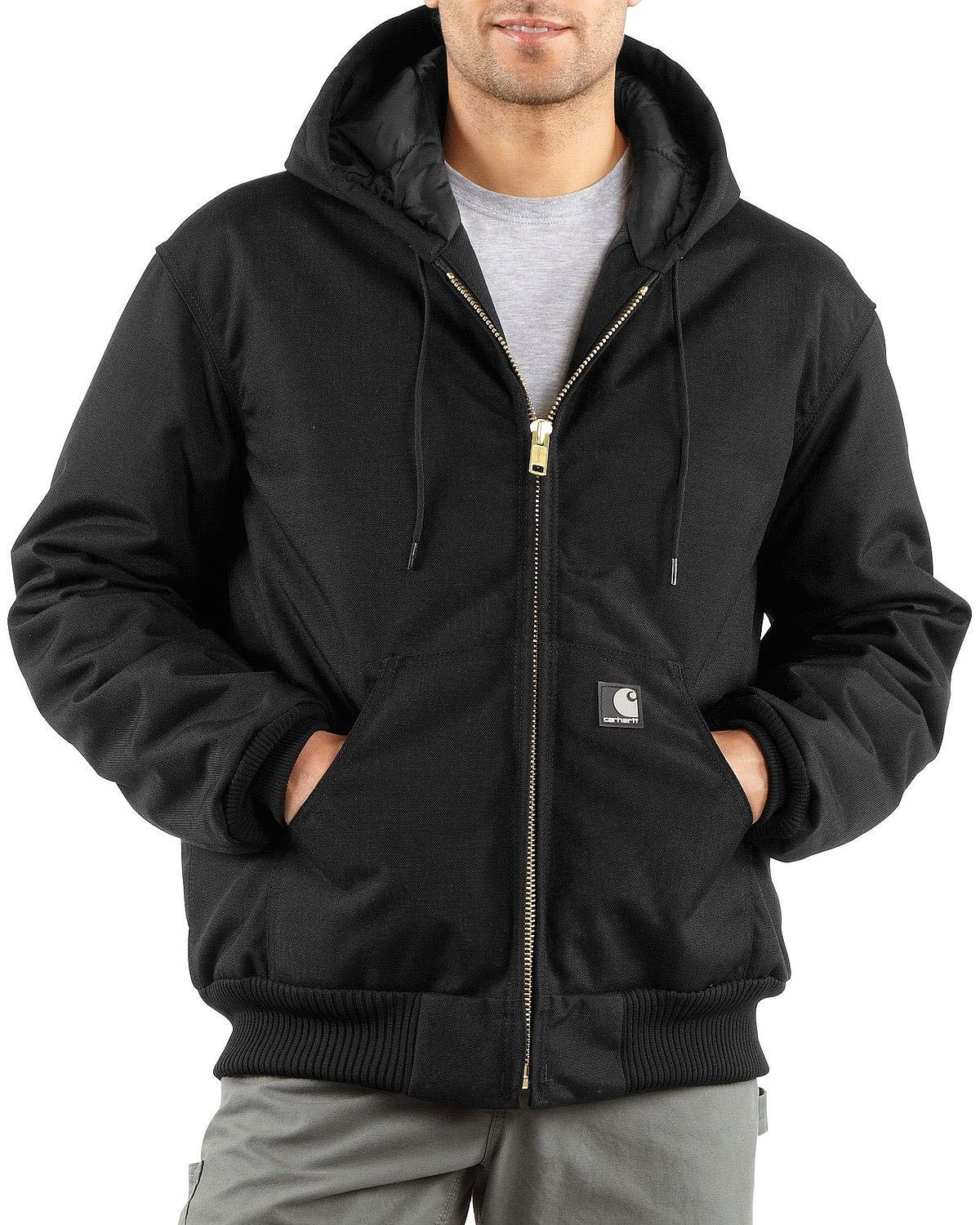 Carhartt Men's Arctic Quilt Lined Yukon Active Jacket,Black,Large by Carhartt