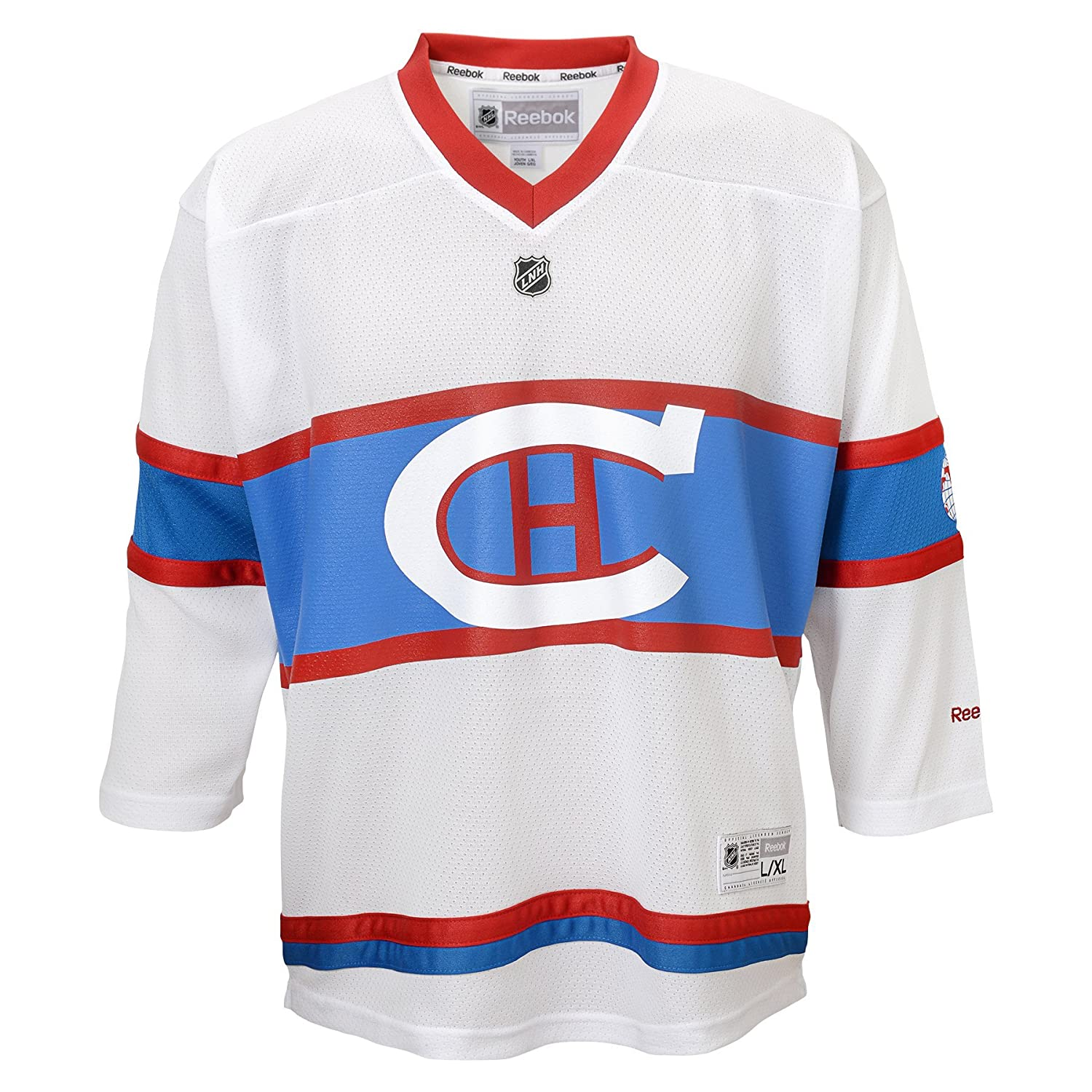 Amazon.com   NHL Montreal Canadiens Toddlers Winter Classic Replica Jersey 80d414e723c