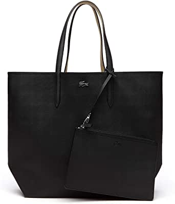 Lacoste Women's Shopping Bag By Lacoste, Black Warm Sand - NF2143AA-A91