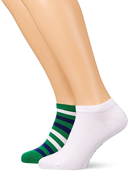 Tommy Hilfiger MEN SNEAKER 2 PACK - Calcetines - white mXvoZ