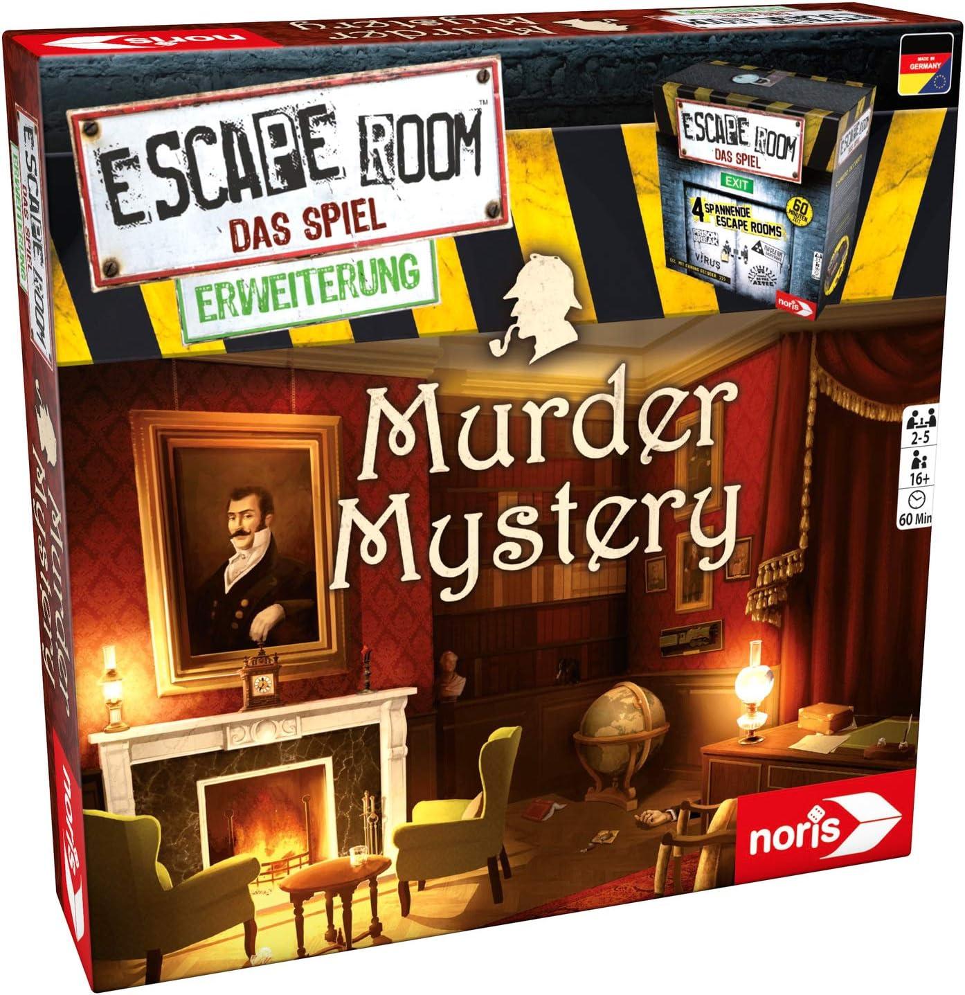 noris Escape Room Murder Mystery Niños y Adultos Deducción - Juego ...