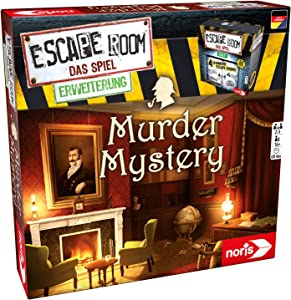 Noris Spiele 606101617聽Escape Room Play Expansion Murder Mystery Only with Chrono Decoder Strategy Game