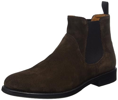 47771c7e92e2 Vagabond Men s Salvatore Chelsea Boots, Brown (Java 31), 8 UK ...