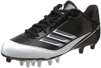 100% authentic 0daa2 30354 adidas Mens Scorch X SuperFly Low Football Cleat,BlackWhiteMetallic  Silver,