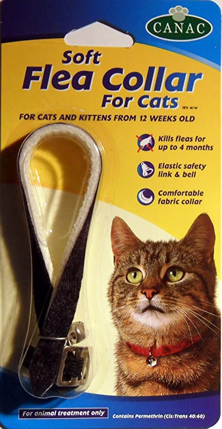 Canac Cat Flea Collar Black Amazon Co Uk Kitchen Home