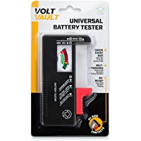 Battery Tester Checker - Battery Tester Monitor for AAA, AA, C, D, 9V and Small Batteries, Battery Life Level Testers w…
