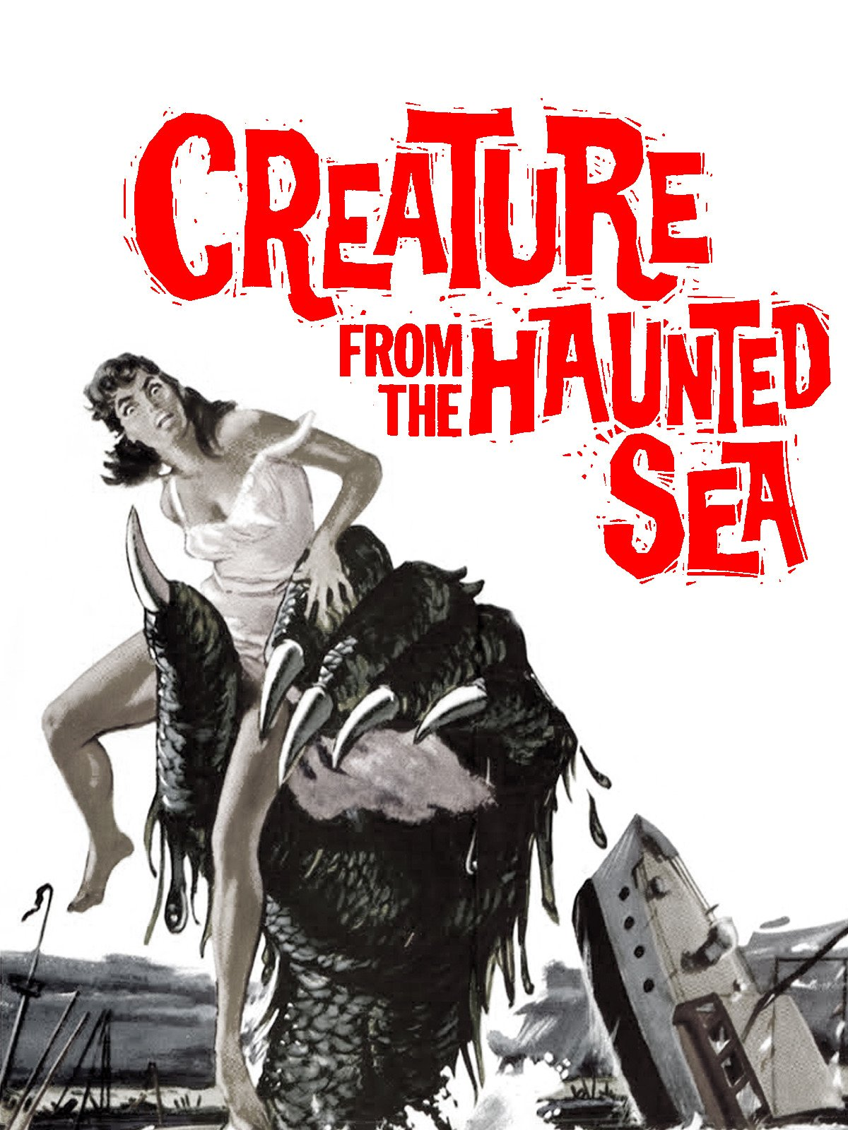 Creature From The Haunted Sea on Amazon Prime Video UK