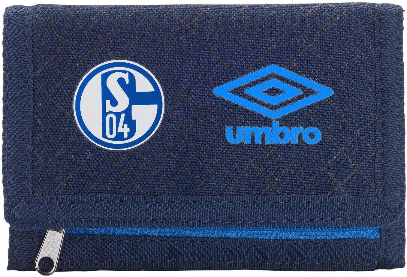Plus Lesezeichen I Love Gelsenkirchen Geldbeutel Portmonee S04 FC Schalke 04 Geldb/örse blau