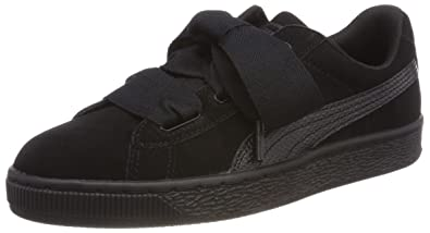 Suede Basses Snk Heart JrSneakers Puma Fille j5ALR34q