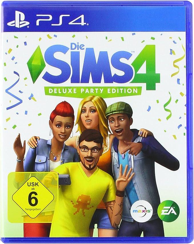 Die Sims 4 - Deluxe Party Edition - PlayStation 4 [Importación alemana]: Amazon.es: Videojuegos