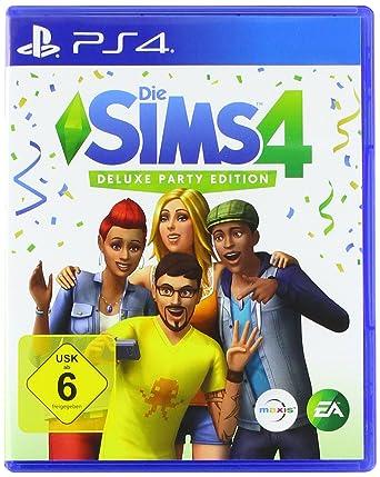 Die Sims 4 Deluxe Party Edition Playstation 4 Amazon De Games