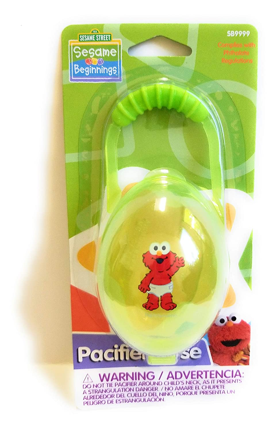 Amazon.com : Elmo Pacifier case Sesame Beginings : Baby