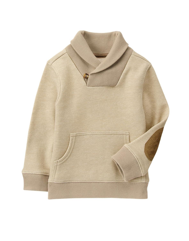 Crazy 8 Boys' Shawl Collar Sweater
