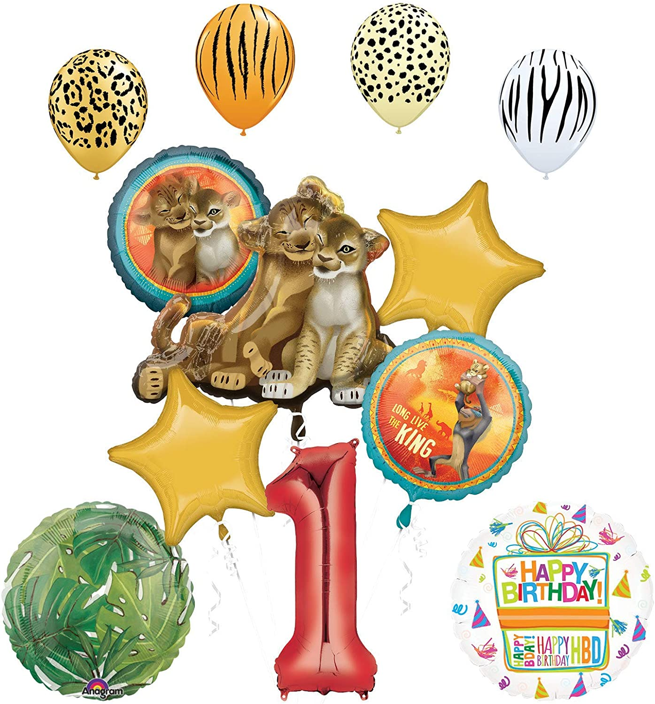 Mylar Foil Balloon Bouquet Party Decoration New Disney The Lion King 5