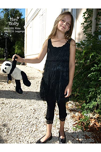 new concept 42aef cc74c Mini Molly - Leggings - ragazza blu 9 anni: Amazon.it ...