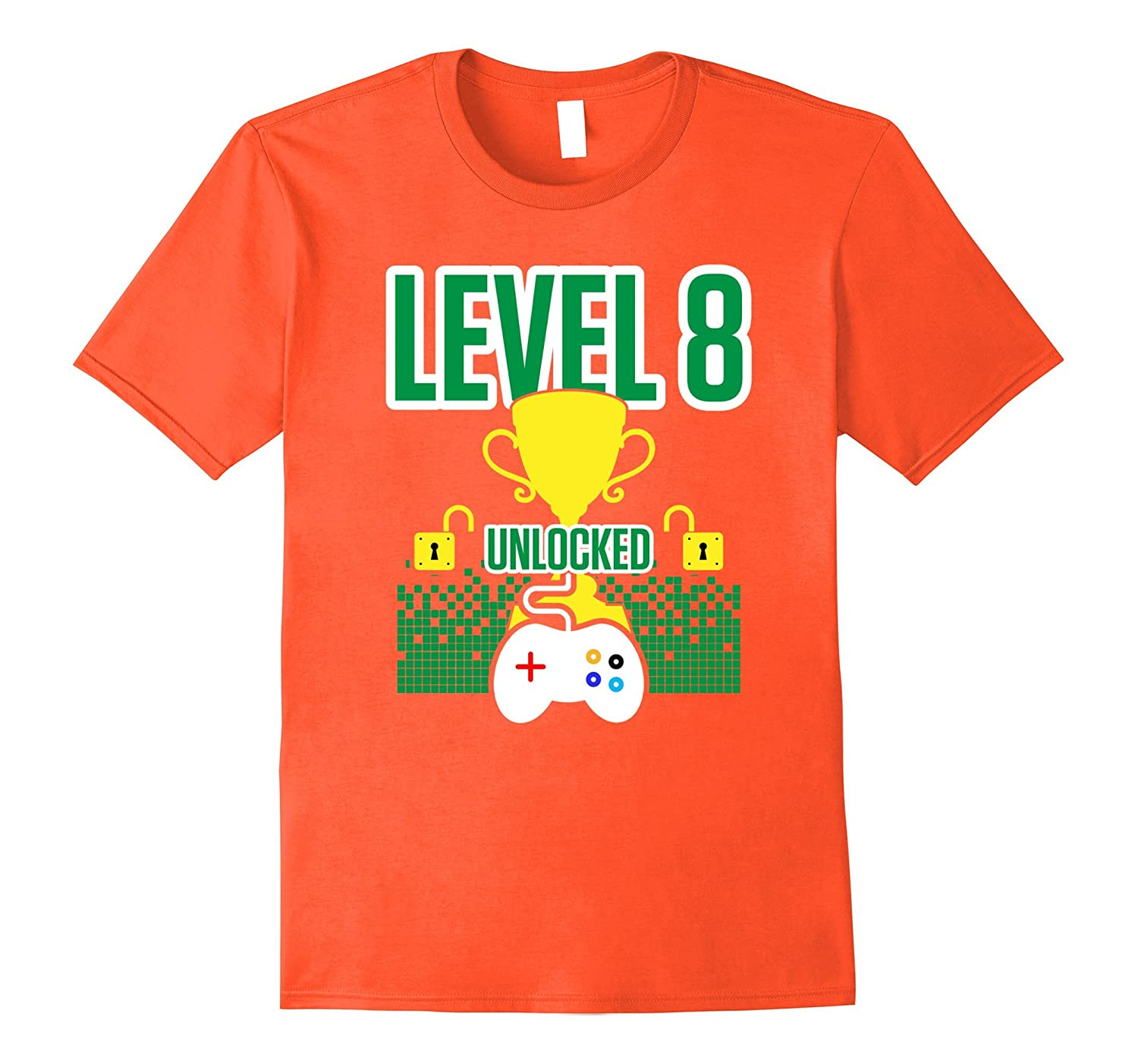 8 YEAR OLD Gamer Birthday Shirt