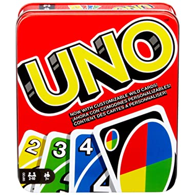 Mattel Games: The Official Uno Tin [Amazon Exclusive]