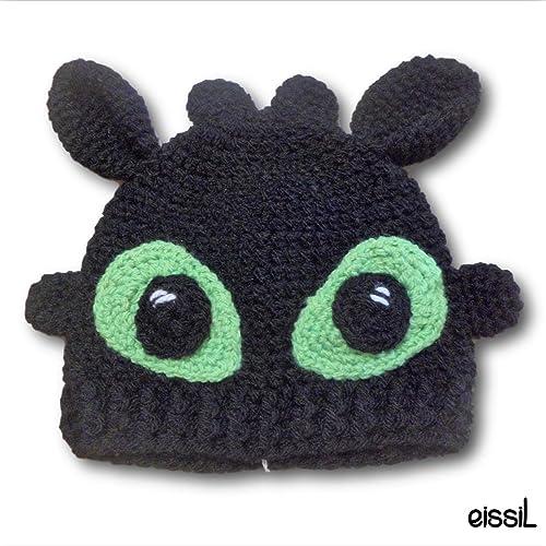 Toothless Crochet Hat Amazon Handmade