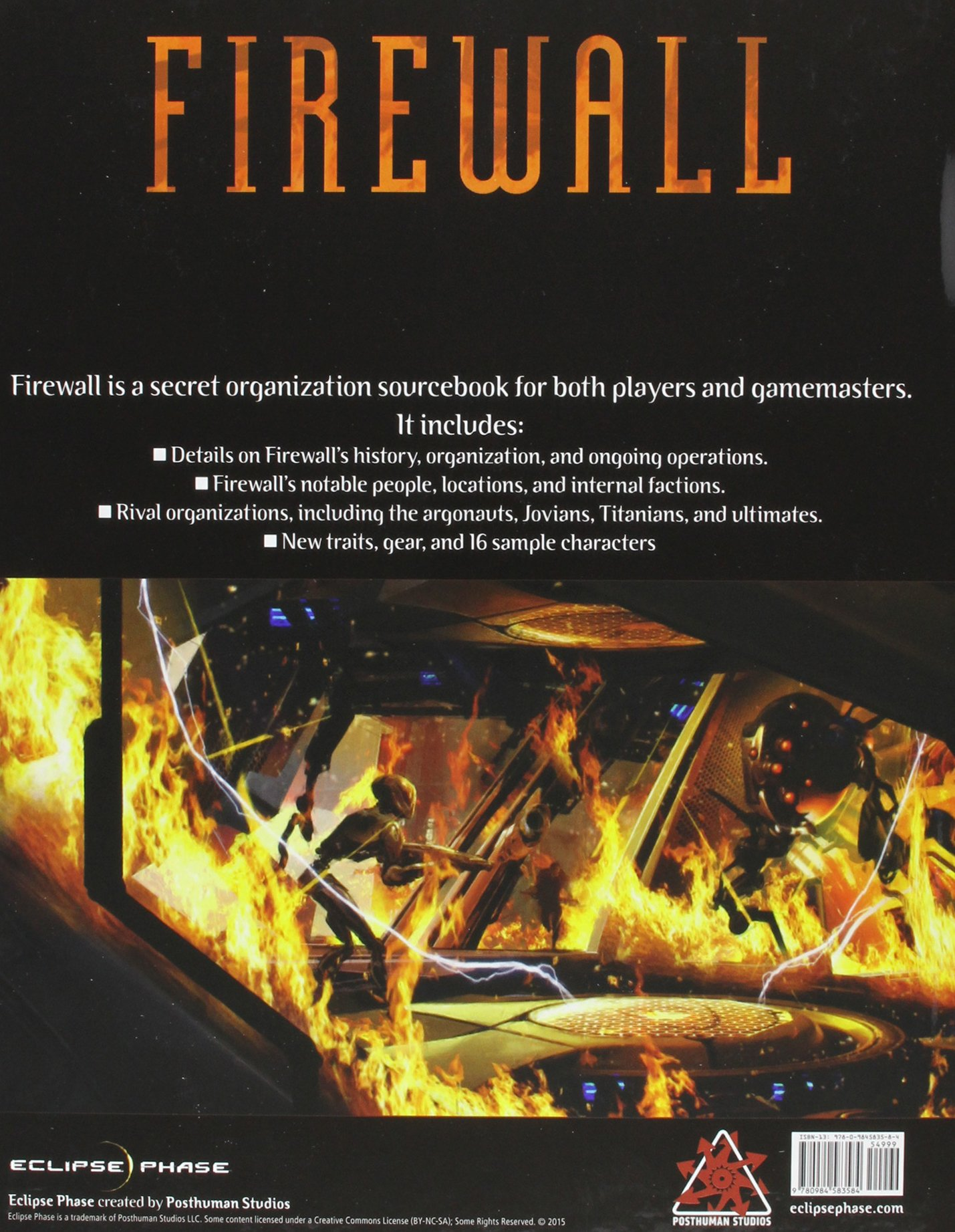 Eclipse Phase Firewall Book