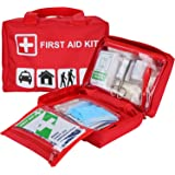 ProCase First Aid Kit, All-Purpose Survival Kit with 96 Pieces Outdoor Emergency Supplies for Car, Home, Office, Sports…