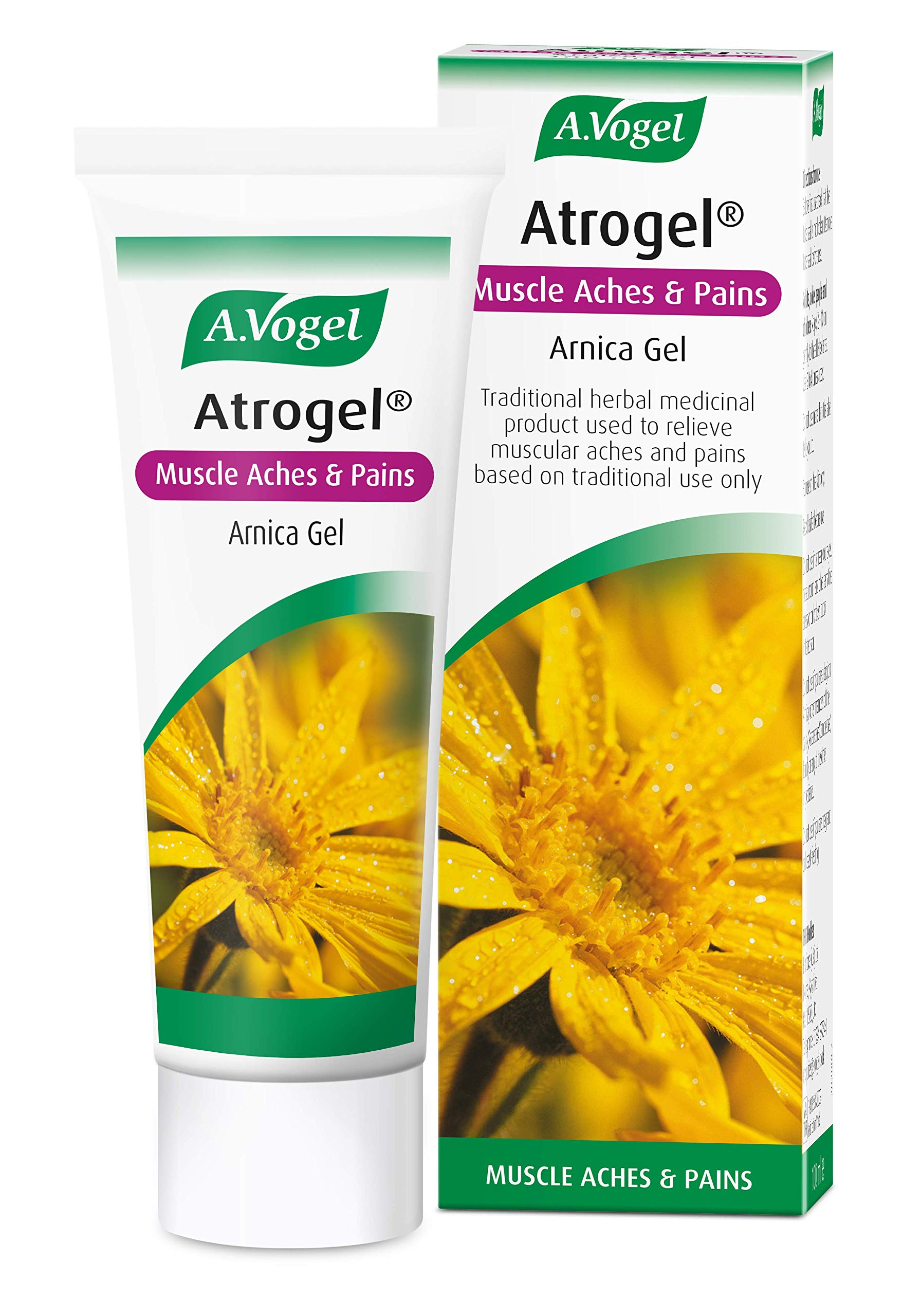 A.Vogel Atrogel   Muscle Aches & Pains   Arnica Gel for Pain Relief   100ml