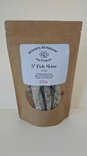 """product image for Wilson's All Natural 5"""" Fish Skinz - 10 Pack"""