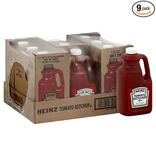 Ketchup, 76-Ounce (Pack of 9).