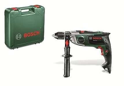 Perceuse à percussion filaire Bosch - AdvancedImpact 900 + poignée supplémentaire (900W, béton 14mm, bois 40mm, avec accessoires)