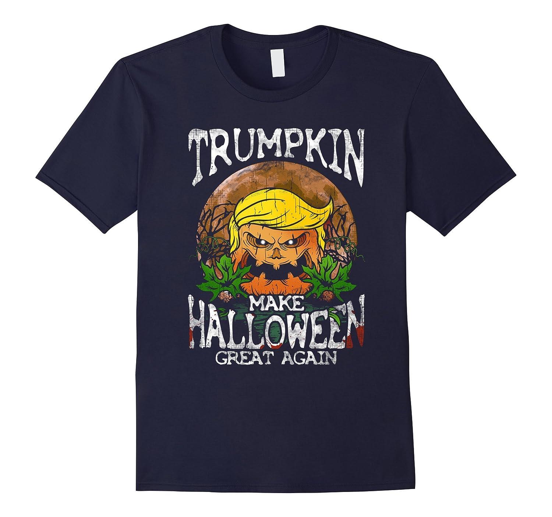 Trumpkin Shirt Make Halloween Great Again Trump T-Shirt Gift-TJ