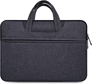 "14-15 inch Waterpoof Laptop Case for DELL XPS 15 9575 9570, Lenovo Chromebook S330 14"", HP 14"" Laptop, Dell Lenovo ASUS Acer Chromebook 14 inch, HP Pavilion x360 14"", 14 Inch Laptop sleeve with Handle"