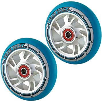 Equipo Dogz 100 mm Swirl - Ruedas para patinete (núcleo de ...