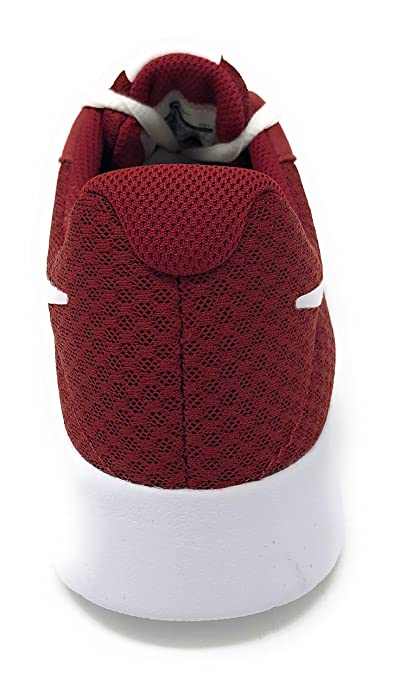 Amazon.com | NIKE Womens Tanjun Team Red/White Size 6 B(M) US | Fashion Sneakers