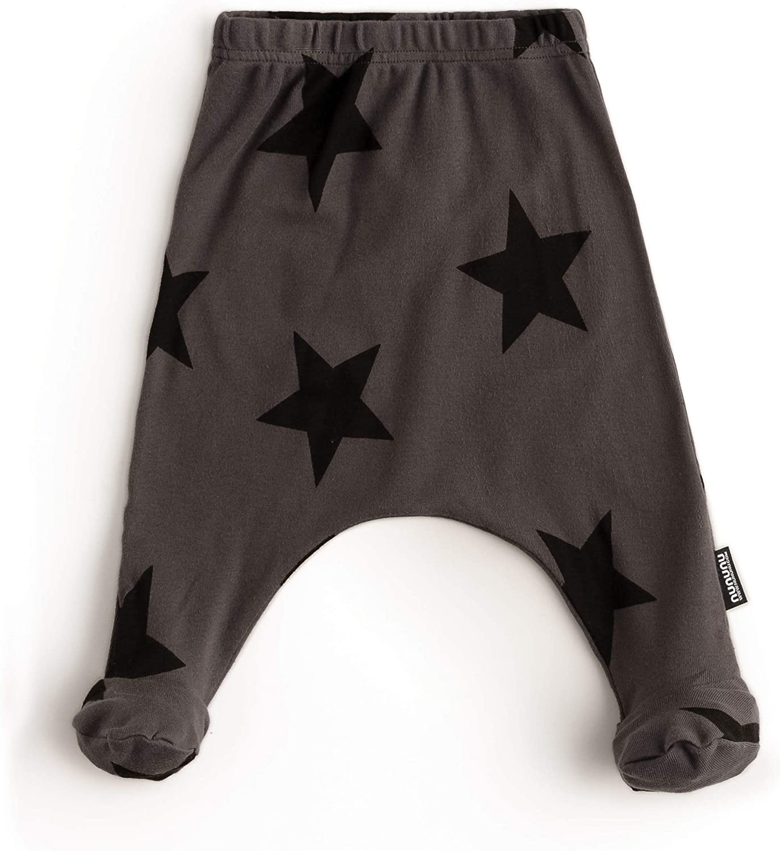 Boys and Girls. NUNUNU Baggy Pants Unisex Cotton Harem Pants for Kids Babies