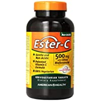 American Health Ester-C with Citrus Bioflavonoids Vegetarian Tablets - Gentle On...