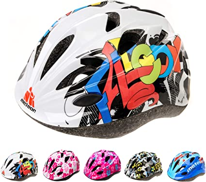 meteor Casco Bicicleta Bebe Helmet Bici Ciclismo para Niño - Cascos para Infantil - Bici Casco para Patinete Ciclismo Montaña BMX Carretera Skate Patines monopatines HB6-5: Amazon.es: Deportes y aire libre