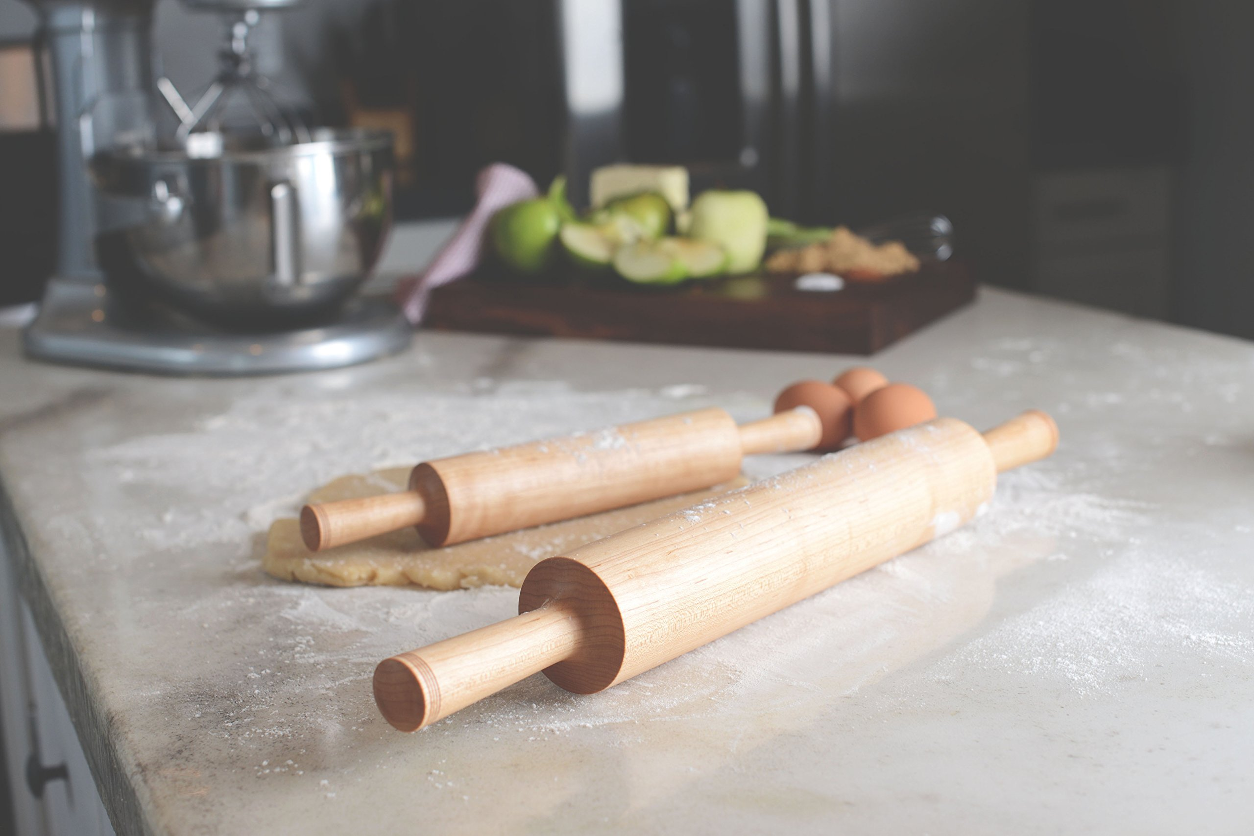 """""""The Mid-Century"""" Rolling Pin"""