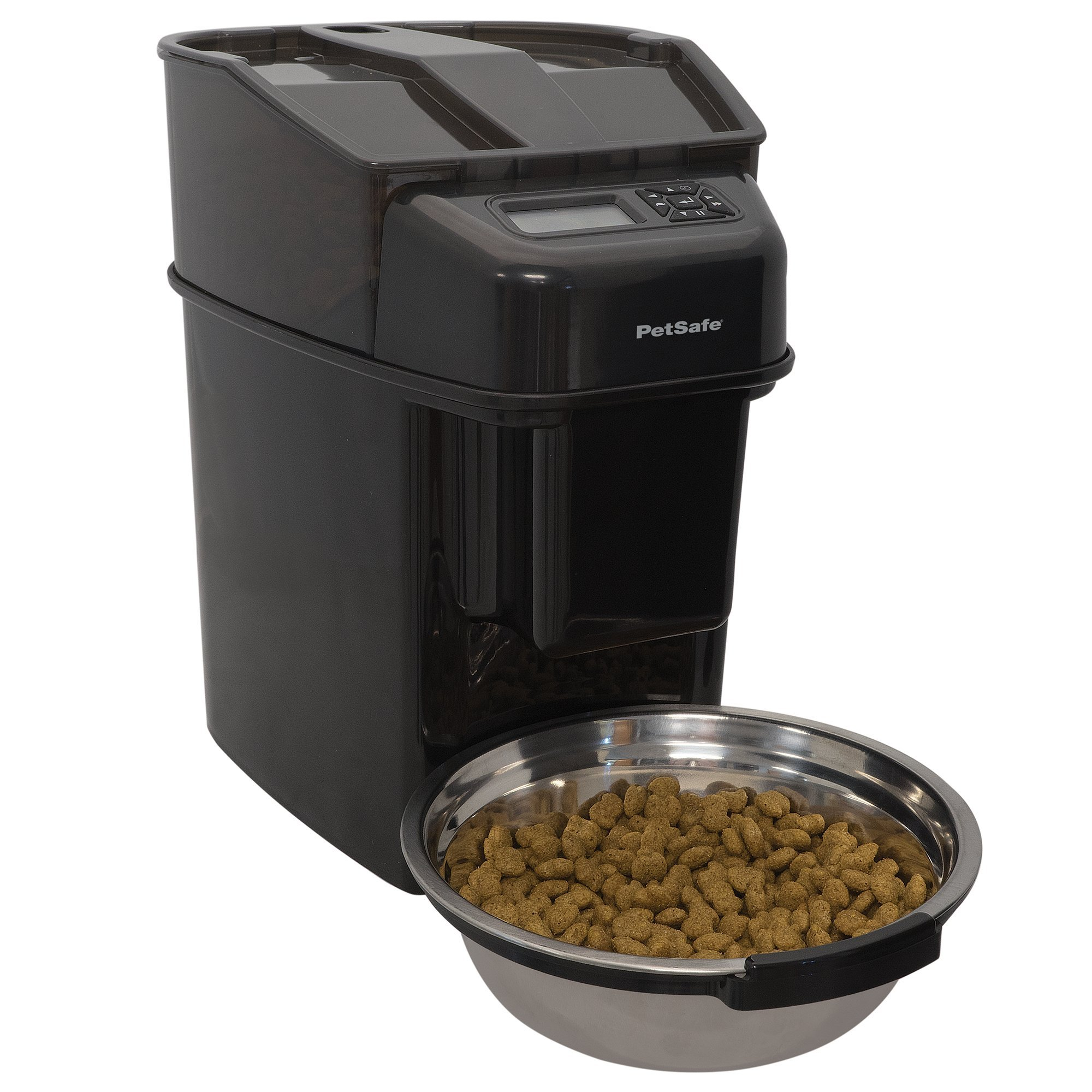 PetSafe Healthy Pet Simply Feed, Automatic Dog and Cat Feeder, 24 Cups, One Size Fits All, Black