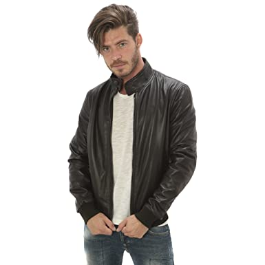 ac made in italy lederjacke