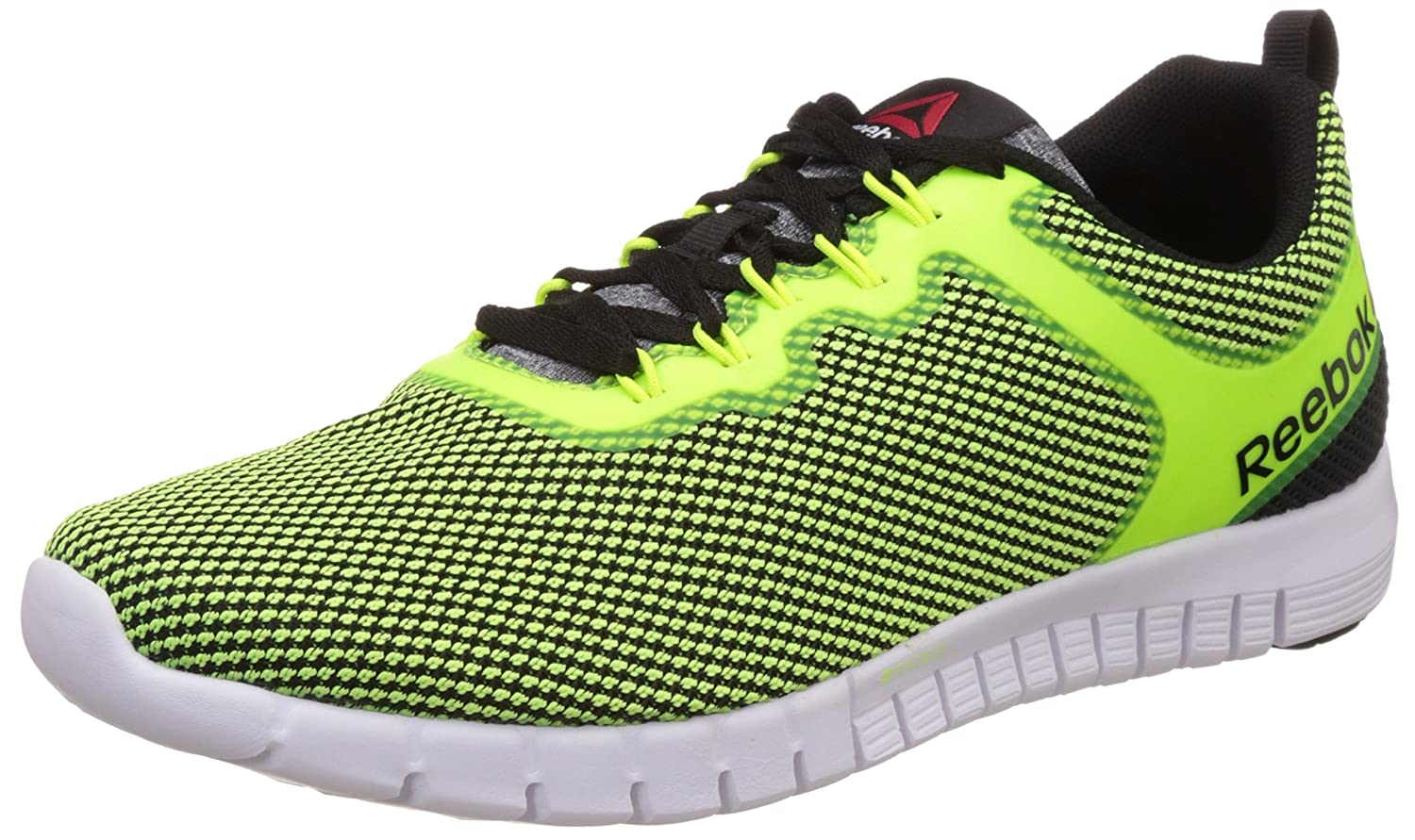 Reebok Zquick Lite, Men's Running Shoes, Solar Yellow/Black/White, 10.5 UK:  Amazon.co.uk: Shoes & Bags