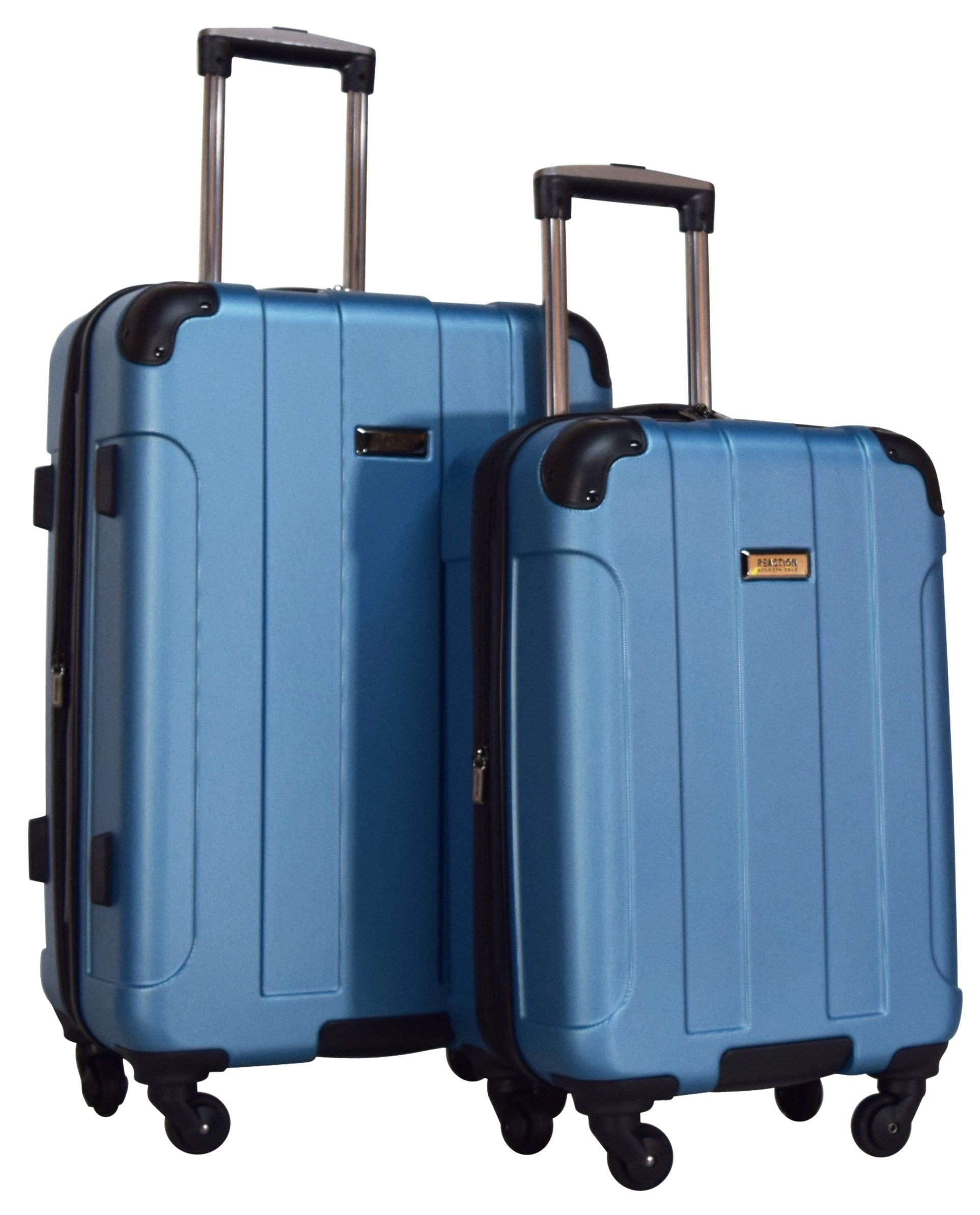 Kenneth Cole Reaction Central Park 2-Piece Expandable Luggage Spinner Set: 24'' and 20'' (Ocean Blue)