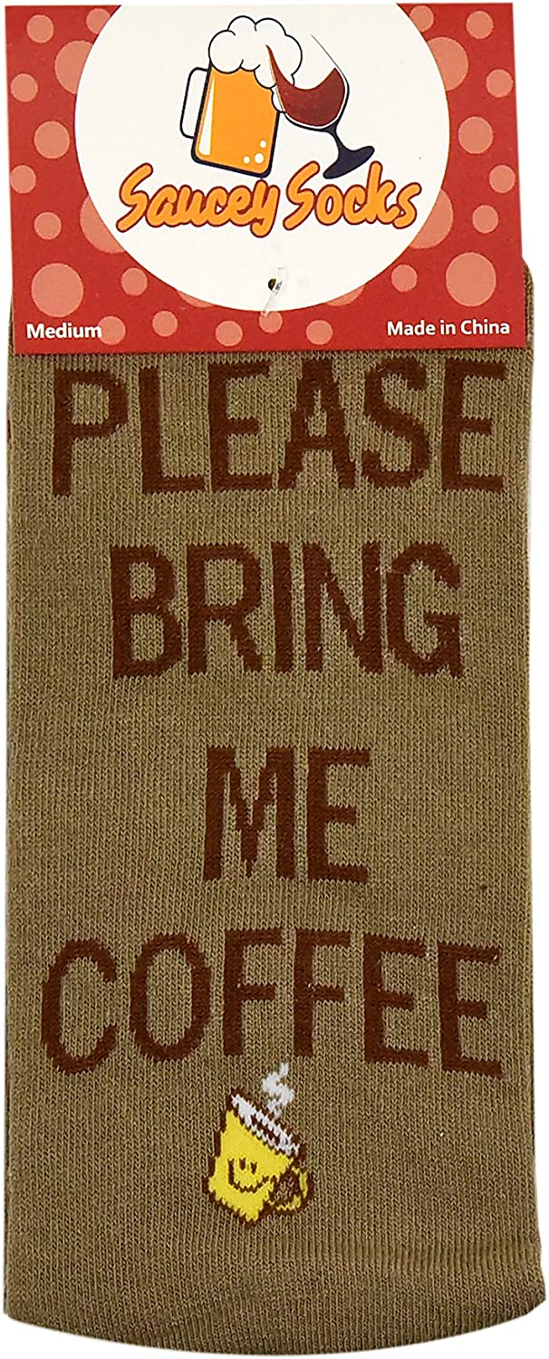 Bring Me Coffee Socks Men Women If You Can Read This Luxury Cotton Designs Great Gift