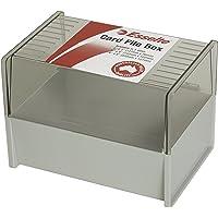 Esselte SWS Card File Box 102X152 (6X4) Grey Dove