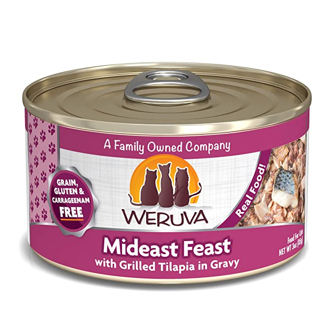2. Weruva Grain-Free Cat Food - Best For Unique Flavors