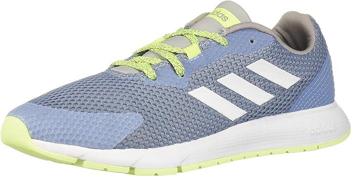 Adidas Women's Sooraj Shoe, Glow Blue/Footwear White/Light Granite, 5 Regular US