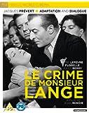 Le Crime De Monsieur Lange [Blu-ray] [2018]