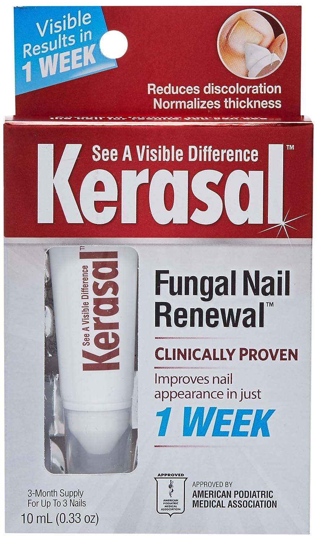 Amazon.com : Kerasal Nail Fungal Nail Renewal Treatment 10ml (2 Pack ...