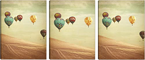 Art Maison Wall Art Canvas, Set of 3 18 X24 , Wanderers